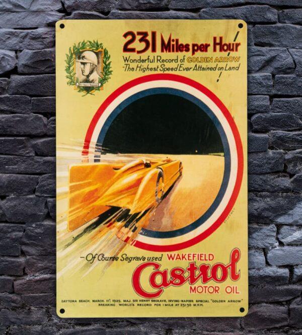 Heritage Metal Poster