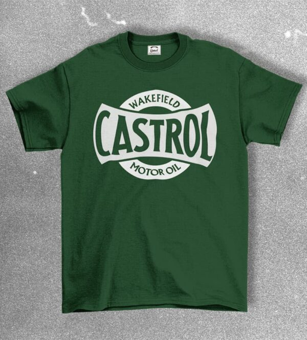 Castrol heritage t-shirt green