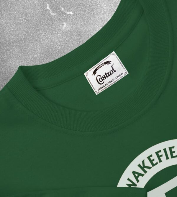 Heritage-T-shirt-Green castrol