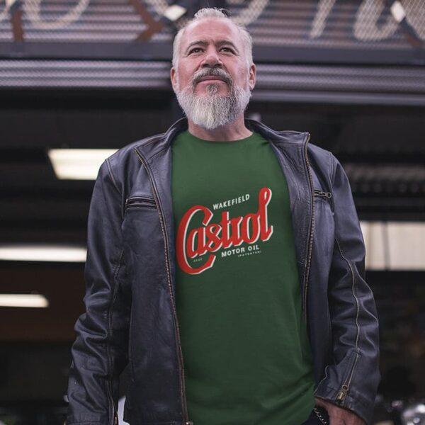 Heritage 1946 t-shirt castrol