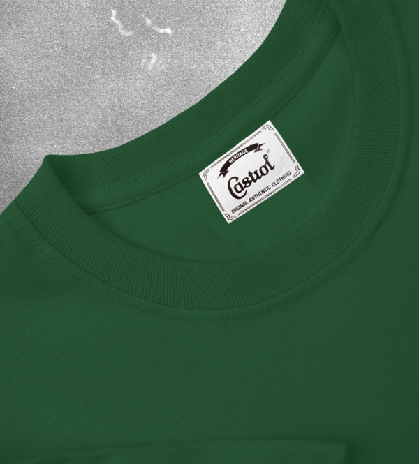 Castrol green t-shirt heritage